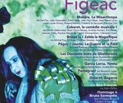 FESTIVAL DE THEATRE DE FIGEAC DU 19 JUILLET AU 2 AOUT 2014
